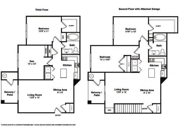Floor Plan  Millstone Floorplan at Windsor at Meridian
