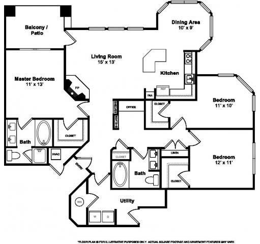 Floor Plan  Plymouth Floorplan at Windsor at Meridian