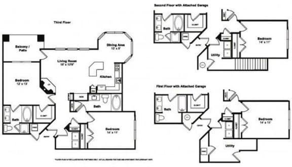 Floor Plan  Rockford Floorplan at Windsor at Meridian