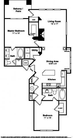 Floor Plan  Scottsdale Floorplan at Windsor at Meridian
