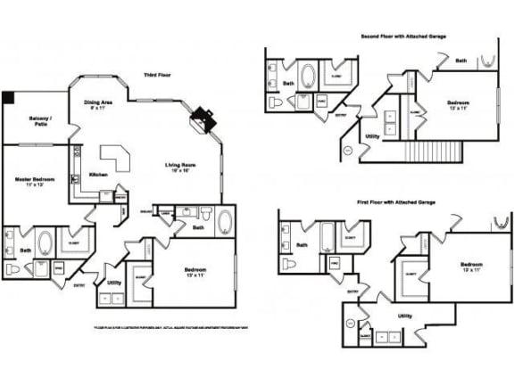 Floor Plan  Westhope Floorplan at Windsor at Meridian