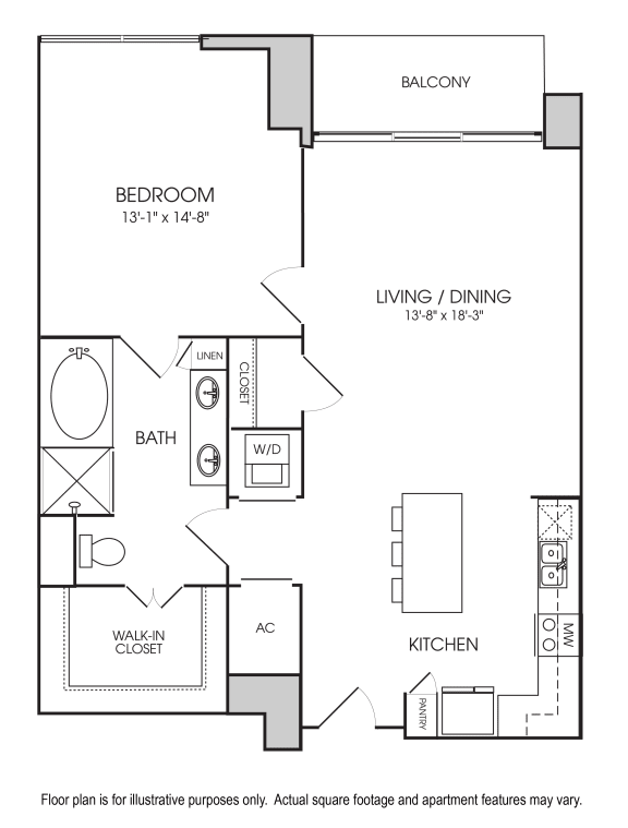 Floorplan at The Sovereign at Regent Square