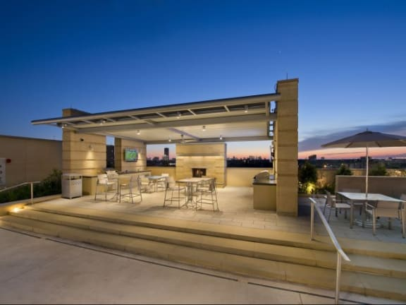 Large Barbecue Pavilion at The Sovereign at Regent Square, 3233 West Dallas, Houston, TX 77019