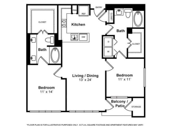 Floorplan at Windsor Memorial, 3131 Memorial Court,  Houston, TX