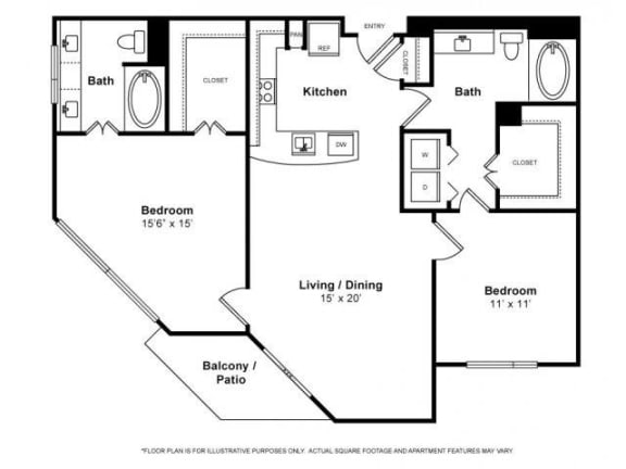 Floor Plan  Floorplan at Windsor Memorial, 3131 Memorial Court,  Houston, TX