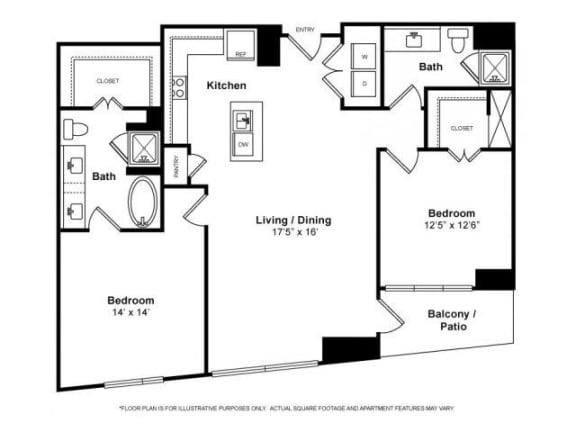 Floorplan at Windsor Memorial, 3131 Memorial Court,  Houston, 77007