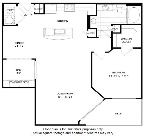 Floor Plan  Floorplan At Domain by Windsor,1755 Crescent Plaza, Houston, 77077