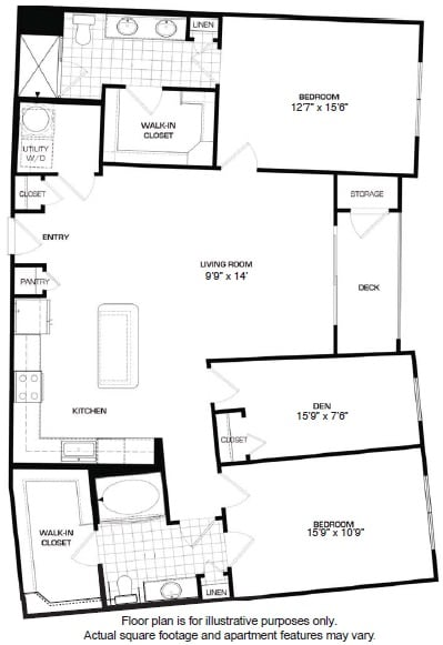 Floor Plan  Floorplan At Domain by Windsor,1755 Crescent Plaza, Houston, TX