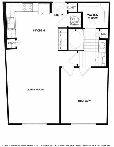 Floor Plan  Floorplan At Domain by Windsor, TX 77077