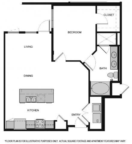 Floor Plan  Floorplan At South Park by Windsor, Los Angeles, CA, 90015, opens a dialog