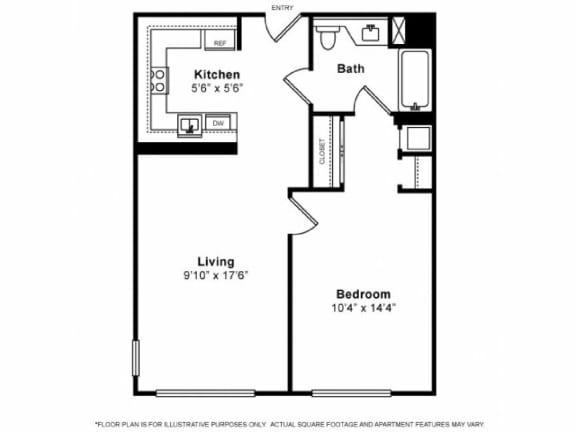 Floor Plan A14C