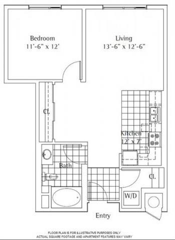 Floor Plan  Floorpaln at sunset + vine, Los Angeles, CA, 90028