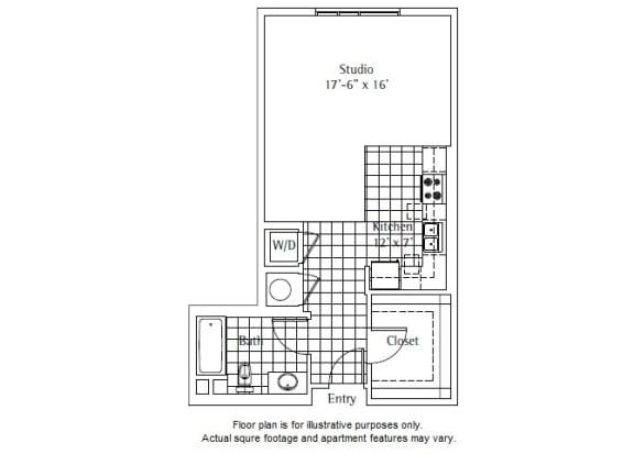 Floor Plan  S3 Floor Plan at sunset + vine