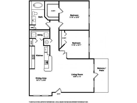 Floor Plan  Floorplan at Windsor at Miramar, 3701 Southwest 160th Avenue, Miramar, opens a dialog