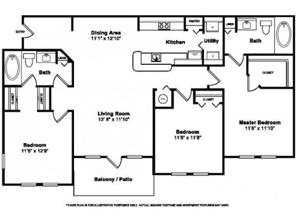 Floor Plan  Floorplan at Windsor at Miramar, 3701 Southwest 160th Avenue, Miramar, 33027, opens a dialog