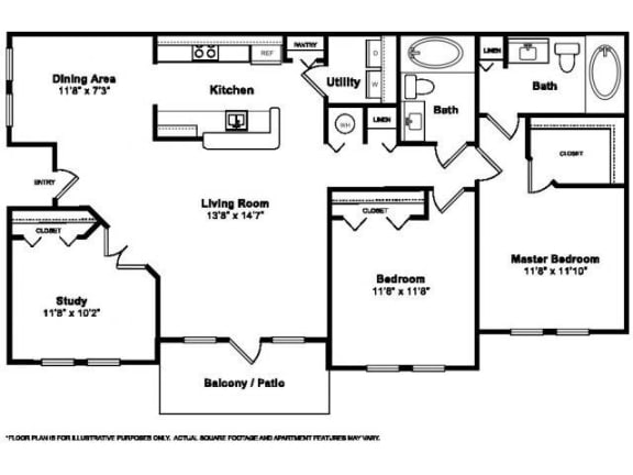 Floor Plan  Floorplan at Windsor at Miramar, 3701 Southwest 160th Avenue, Miramar, FL 33027, opens a dialog