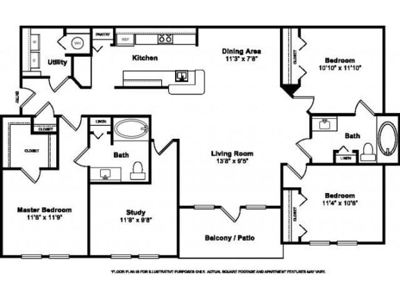 Floor Plan  Floorplan at Windsor at Miramar, 3701 Southwest 160th Avenue, Miramar, FL, opens a dialog