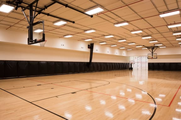 Basketball court at The Aldyn, New York, New York