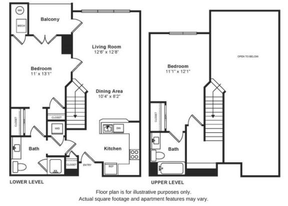 Floor Plan  Asbury Penthouse Floorplan at Windsor at Liberty House, opens a dialog