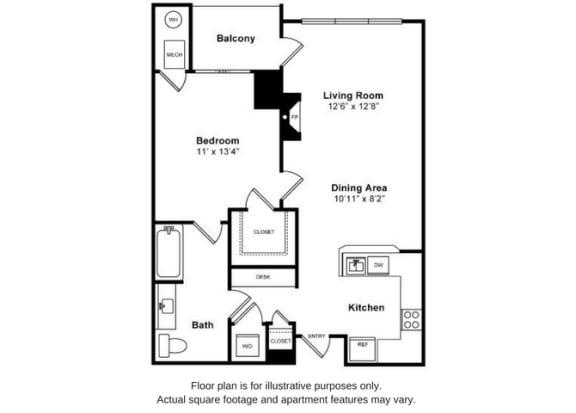 Floor Plan  Asbury Floorplan at Windsor at Liberty House, opens a dialog