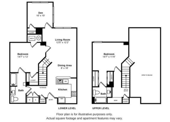Floor Plan  Baldwin Floorplan at Windsor at Liberty House