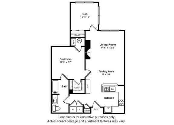 Floor Plan  Baldwin Floorplan at Windsor at Liberty House, opens a dialog