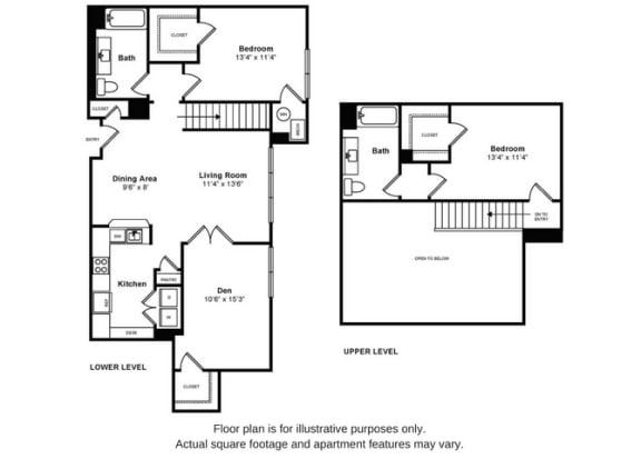 Floor Plan  Bishop Penthouse Floorplan at Windsor at Liberty House, opens a dialog