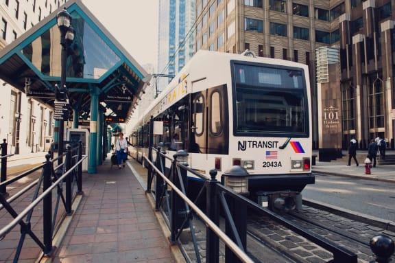 Jersey City Path Trains
