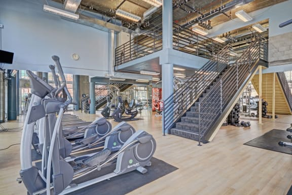 Fitness center at Allegro at Jack London Square, 240 3rd Street, Oakland