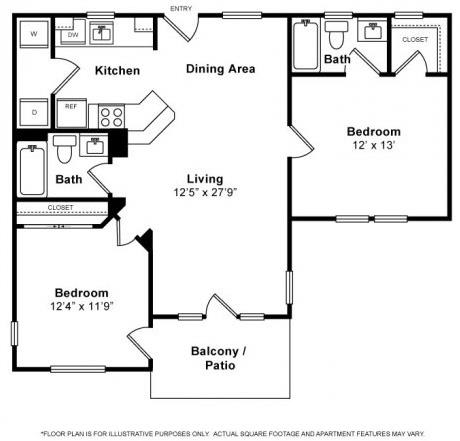Floor Plan  Floorplan at The Kensington, Pleasanton, CA, 94566, opens a dialog