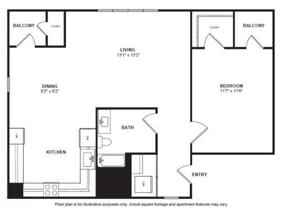 Floor Plan  Venosa Floor Plan at Villa Montanaro, opens a dialog
