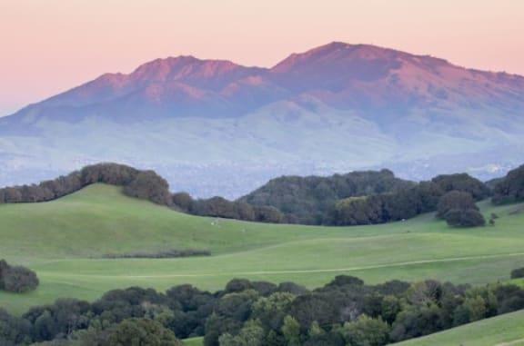 Majestic Views Of Mount Diablo from Sundeck at Villa Montanaro,203 Coggins Drive Pleasant Hill, CA