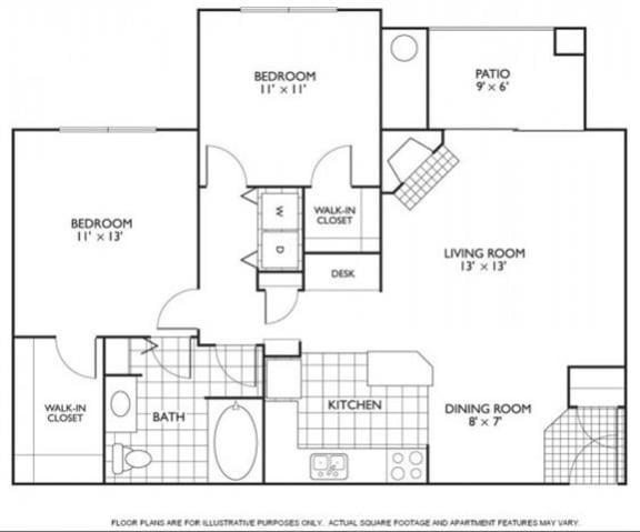 Floor Plan  Bennington Floorplan at Reflections by Windsor, opens a dialog