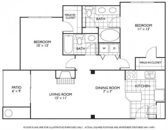 Floor Plan  Cavanaugh Floorplan at Reflections by Windsor, opens a dialog