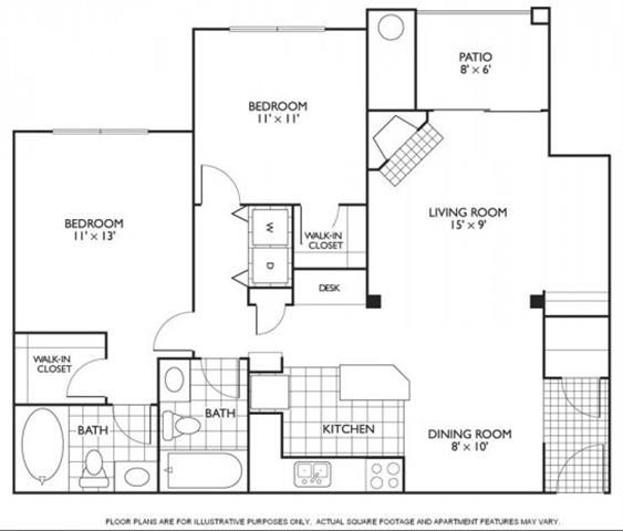 Floor Plan  Chamberlain Floorplan at Reflections by Windsor, opens a dialog
