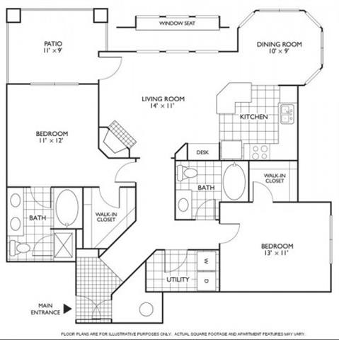Floor Plan  Chelan Floorplan at Reflections by Windsor, opens a dialog