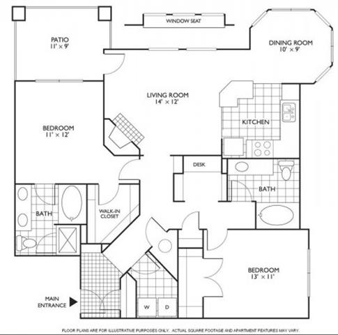 Floor Plan  Columbia Floorplan at Reflections by Windsor, opens a dialog