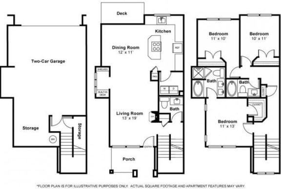 Floor Plan  Cougar Floorplan at The Estates at Cougar Mountain