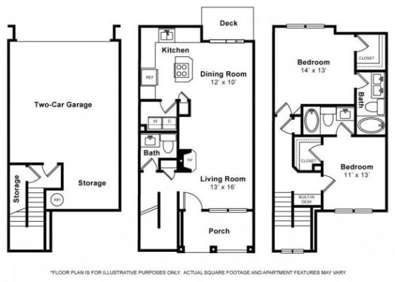 Floor Plan  Squak Floorplan at The Estates at Cougar Mountain