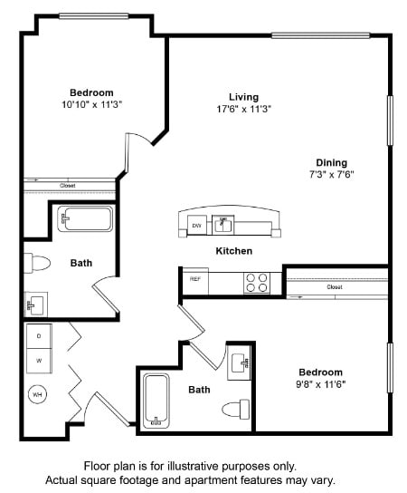 Floor Plan  St Thomas Floor Plan at Tera Apartments