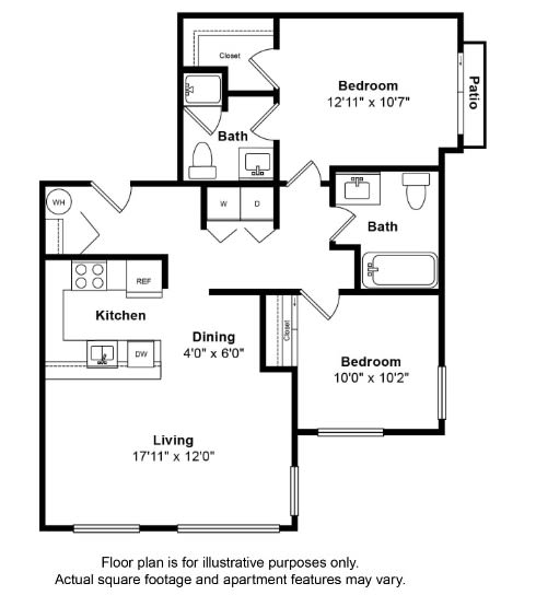 Floor Plan  St Vincent Floor Plan at Tera Apartments