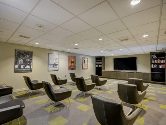 Media Room at Windsor at The Gramercy, 2 Canfield Ave., NY 10601