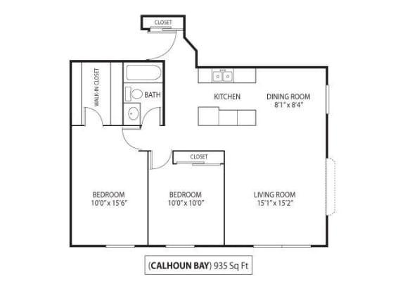 Floor Plan  Calhoun Bay