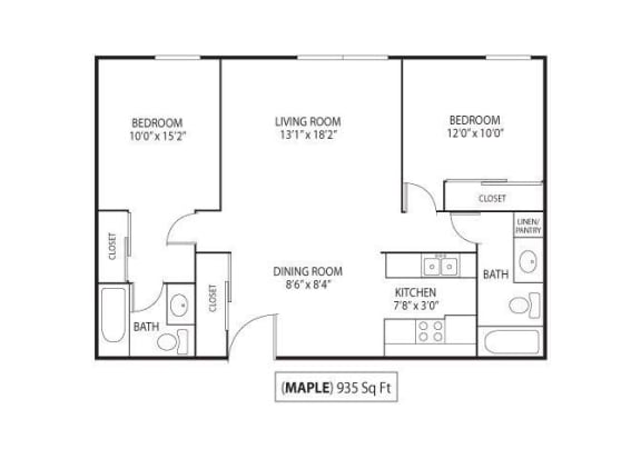 Floor Plan  Maple, opens a dialog