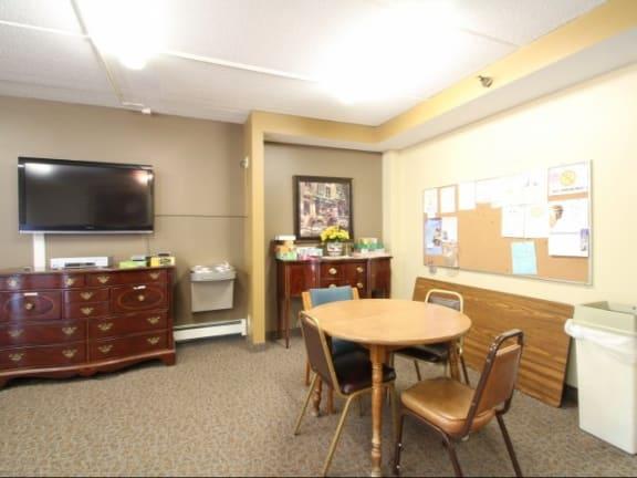 Robbins Landing Apartments in Robbinsdale, MN Community Room