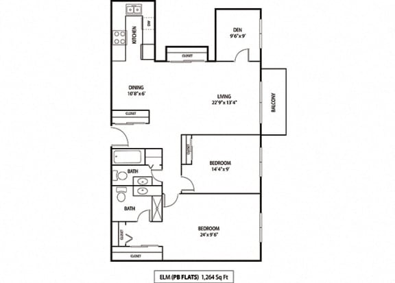 Floor Plan  Elm & Redwood