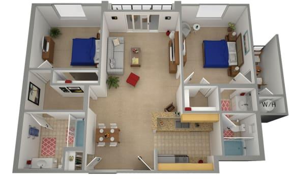 Floor Plan  CA ASTORIA MOUNTAIN VIEW Rental Apartments 91342