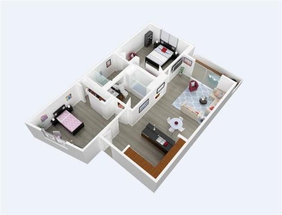 Floor Plan  Turquoise