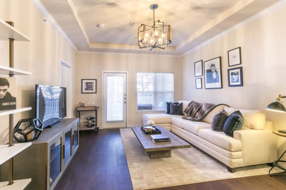 9.5 Coffered Living Room Ceilings at Aventura at Forest Park, St. Louis, 63110
