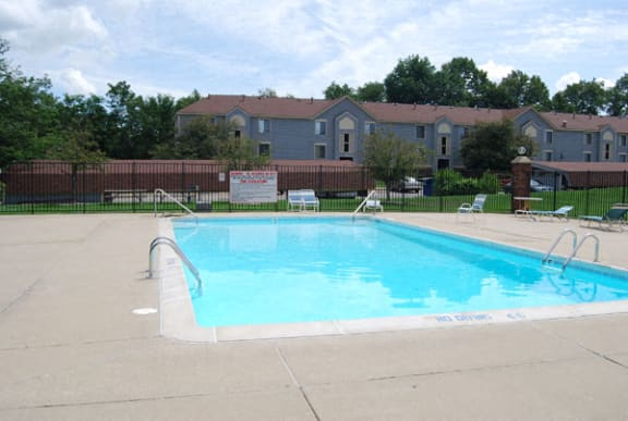 Pool Access With Large Sundeck at Madeira Apartments in Kalamazoo, MI